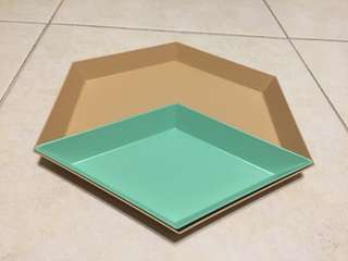 Sulwhasoo cosmetic plates home decoration