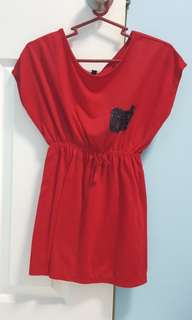 Red Top for Girls