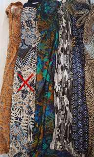 Ladies dresses x3