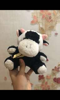 Preloved Cow Mini Doll #maucoach