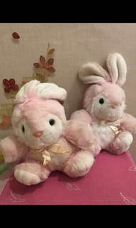 Preloved Rabbit Couple Doll #maucoach