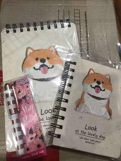 Notepads and pen bundle