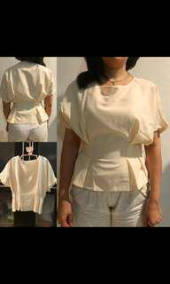 Ivory Top Frazier Woman Fashion Shirt