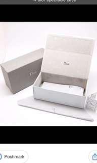 Authentic Dior spectacle case
