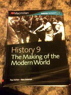 Macmillan history 9 the making of the modern world for Australian curriculum