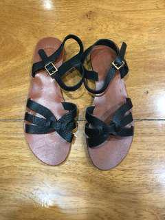 Renegade Folk Black Sandals