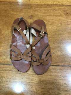Renegade Folk Tan Sandals