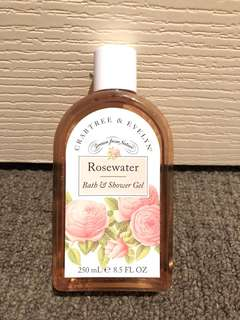 Crabtree & Evelyn rose water bath & shower gel