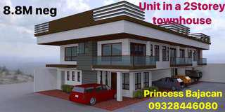 Unit in a 2 storey townhouse
