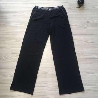 CK Black Cotton pants