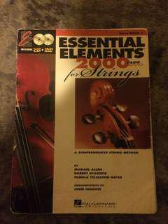 Cello textbooks for beginners bundle with DVDs