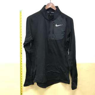 Nike running half zip 保暖 跑步