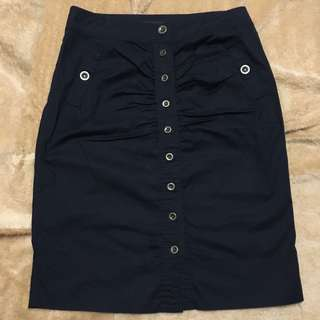FREE SHIPPING MM‼️ Marc Jacobs Black Button Down Skirt