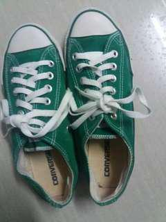 Converse ALL STAR green outing shoes 39size