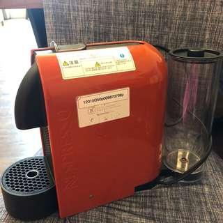 NESPRESSO U型咖啡機 - D50 紅 二手