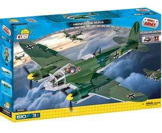 Cobi Heinkel He 111 German Bomber