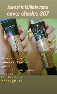 Loreal infallible total shade 307