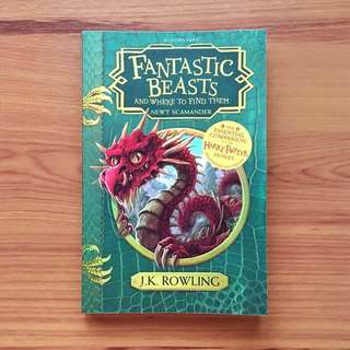 NEW! Fantastic Beasts and Where To Find Them by JK Rowling