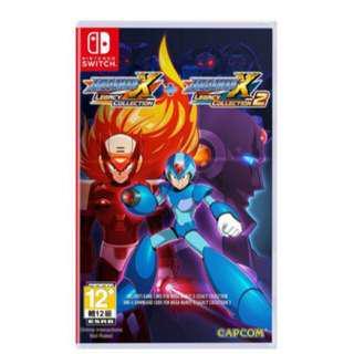 🚚 NS Megaman X 洛克人 週年紀念合集 1+2全新批發價Switch任天堂