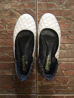Chanel Quilted Flats
