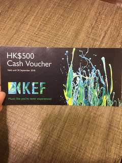 *Free by post* KEF Music Gallery $500 Cash voucher