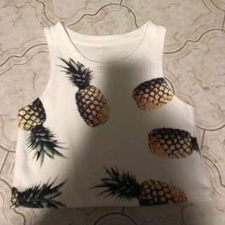 [Instock] Pineapple Halter Top ( 1 )
