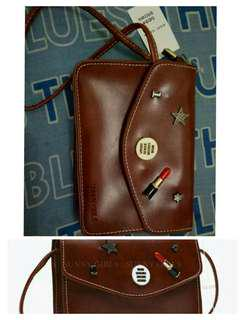 Sling Bag Wanita - Brown