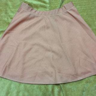 FREE SHIPPING MM‼️ Peach Plus Size Skirt