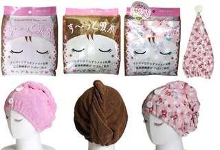 日本🇯🇵直送 吸水速乾頭髮毛巾😍