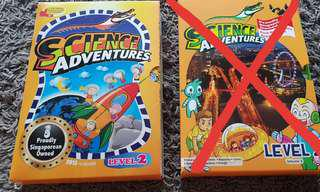 Almost New Science Adventures Level 2 Book Set