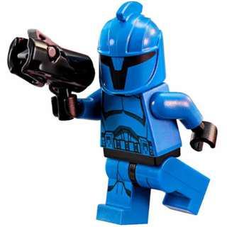 Lego Senate Commando trooper from Star Wars