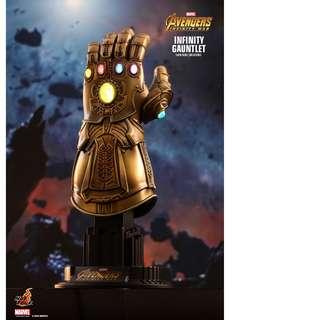 全新 HOTTOYS Hot Toys 1/4th Scale: 復仇者聯盟3 Avengers 3 4 無限手套 Figure