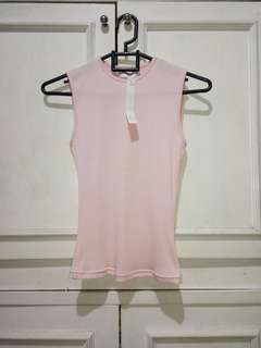 Future state baby pink top