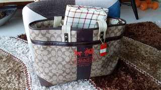 Authentic Coach Baby Bag
