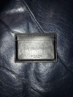 Coach money clip wallet