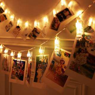 LED Lights With Pegs (Fairy Light)