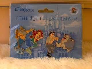 Disney Pairs mermaid pin set