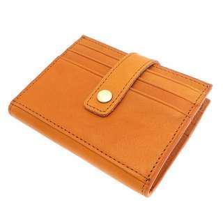 The Ninja Co. Top Grain Leather Billfold Coin Multicard Wallet Men Women Card Purse Holder Gifts Birthday NJ 8847
