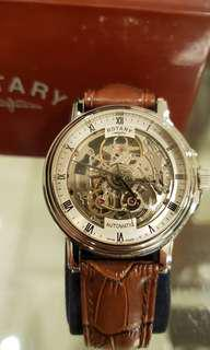 🚚 rotary skeleton swiss made with watch winder