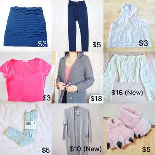 From $3 ITEMS!