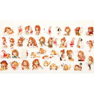 🚚 Sticker Flakes - Whimsy Girl
