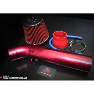Ram Pipe For Perodua Wira Satria Putra With Open Pod Air Filter KNN Package set