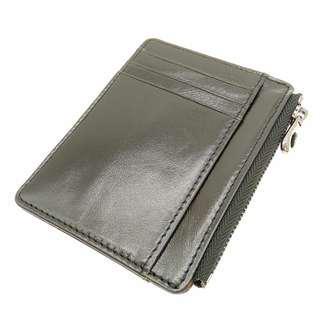 The Ninja Co. Top Grain Leather Card Wallet Billfold Multicard Wallet Men Women Cards Purse Holder Gifts Birthday NJ 8842