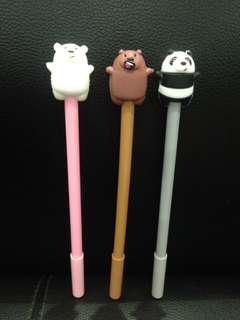 We Bare Bears Gel Pen