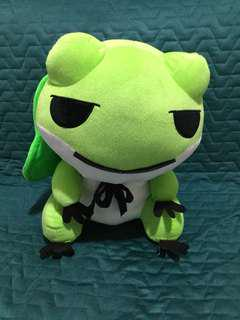 40cm Green Froggy With Hat