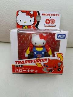 Hello Kitty transform takara tomy 車仔
