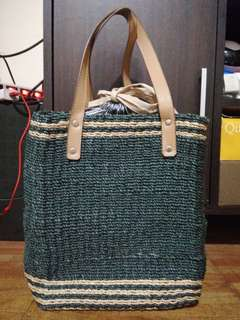 Preloved but never been used Egg Rattan bag