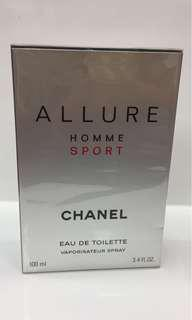 Chanel Allure Homme Sport 100ml edt bn sealed