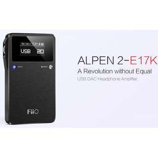 [CLEARANCE PRICE] FiiO ALPEN 2 E17K Portable USB DAC & AMP