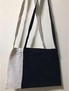 Canvas Plain Sling Tote Bag (S) Good material